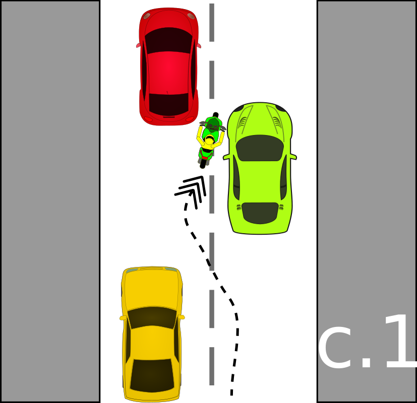 traffic accident pictograms c.1