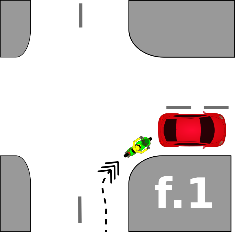 traffic accident pictograms f.1