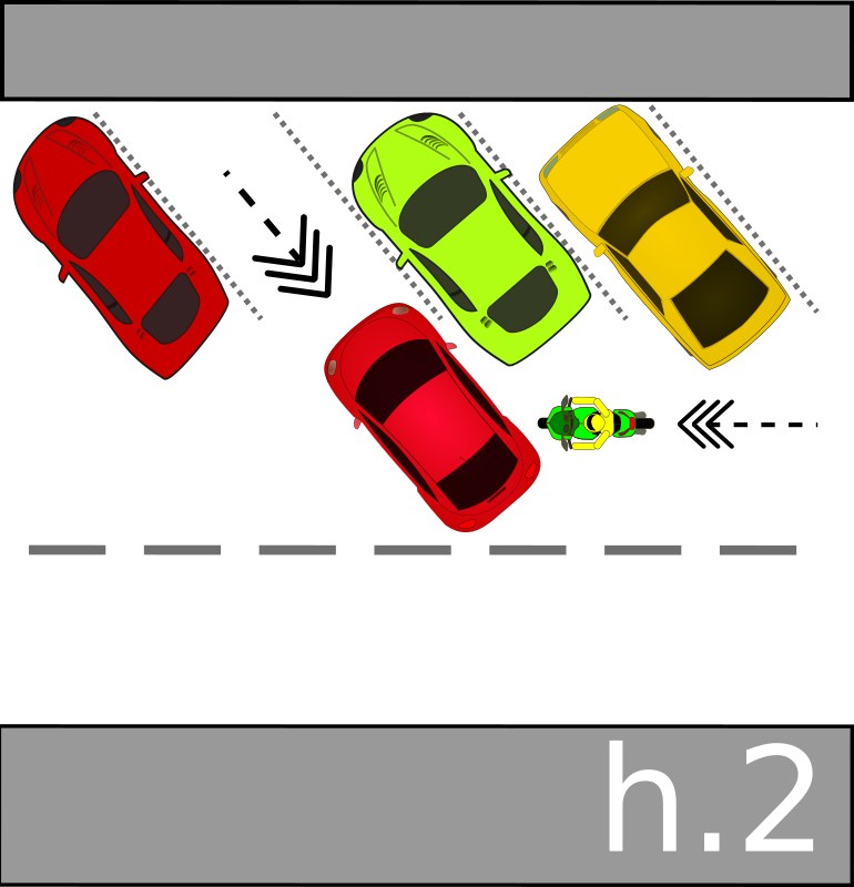 traffic accident pictograms h.2
