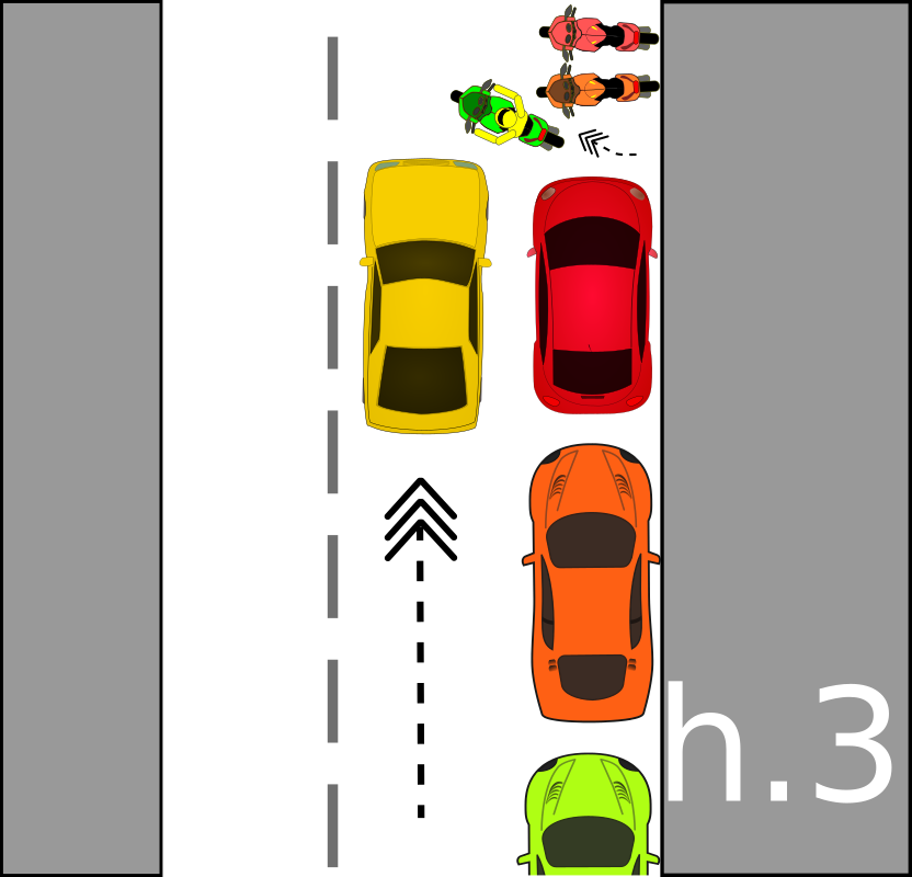 traffic accident pictograms h.3