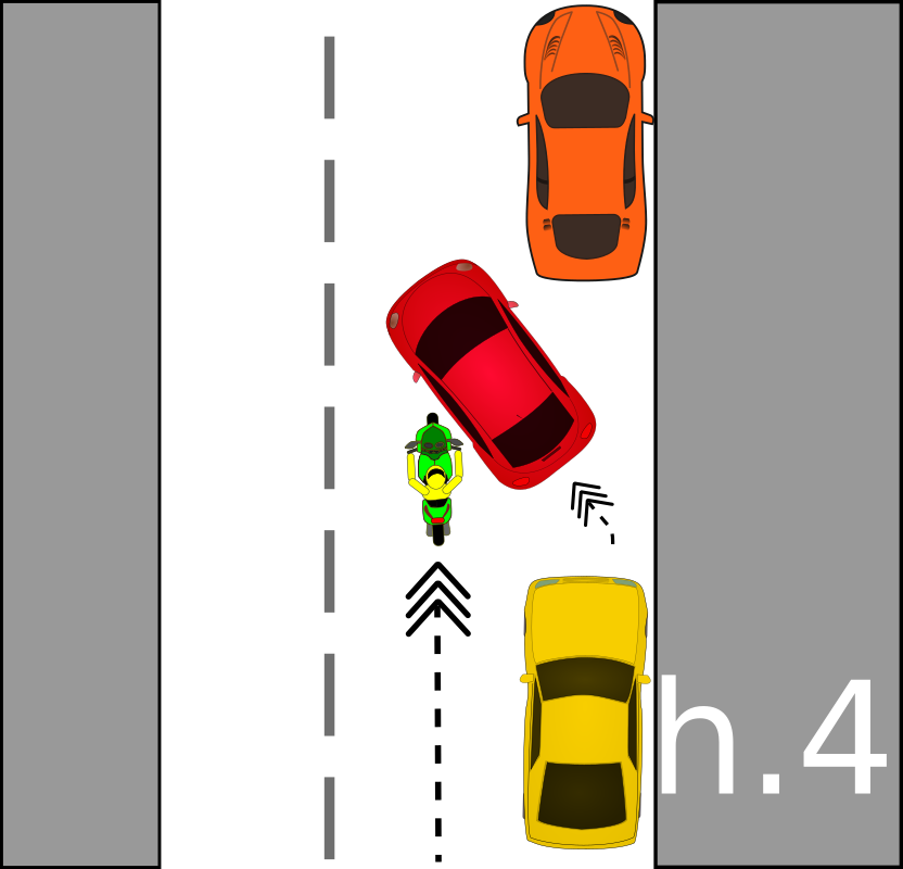 traffic accident pictograms h.4