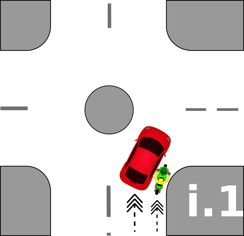 traffic accident pictograms i.1