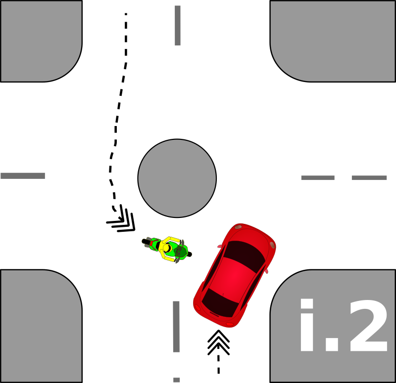 traffic accident pictograms i.2