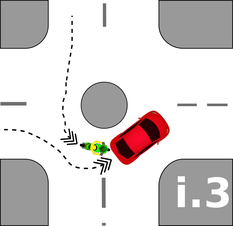 Traffic accident pictograms i.3