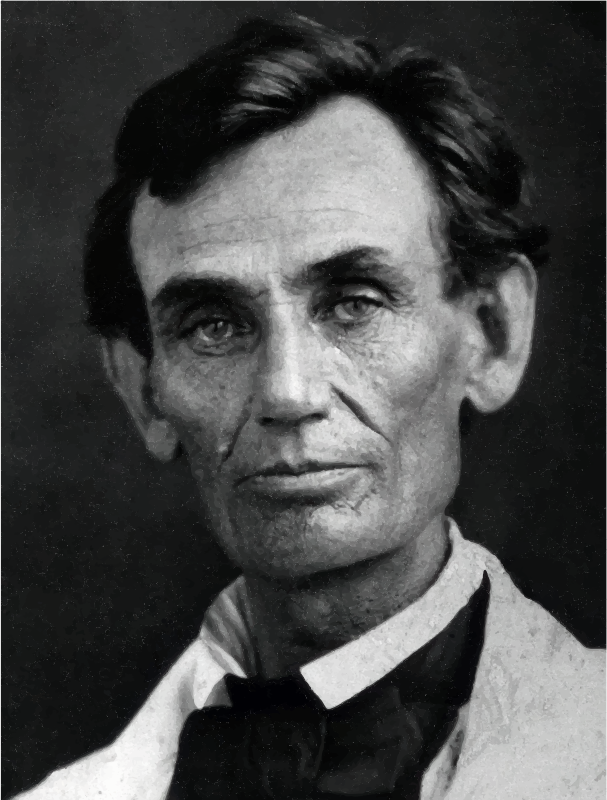 Abraham Lincoln Photograph 1858