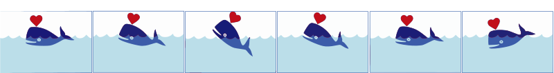 Whale-animation-css-spritesheet