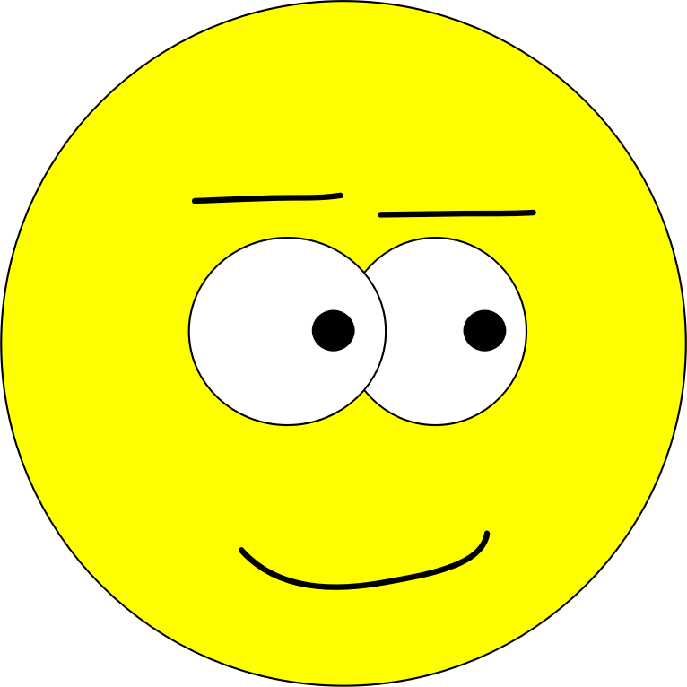Yellow Face - Pleased