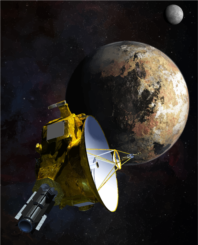 NASA New Horizons Pluto Flyby
