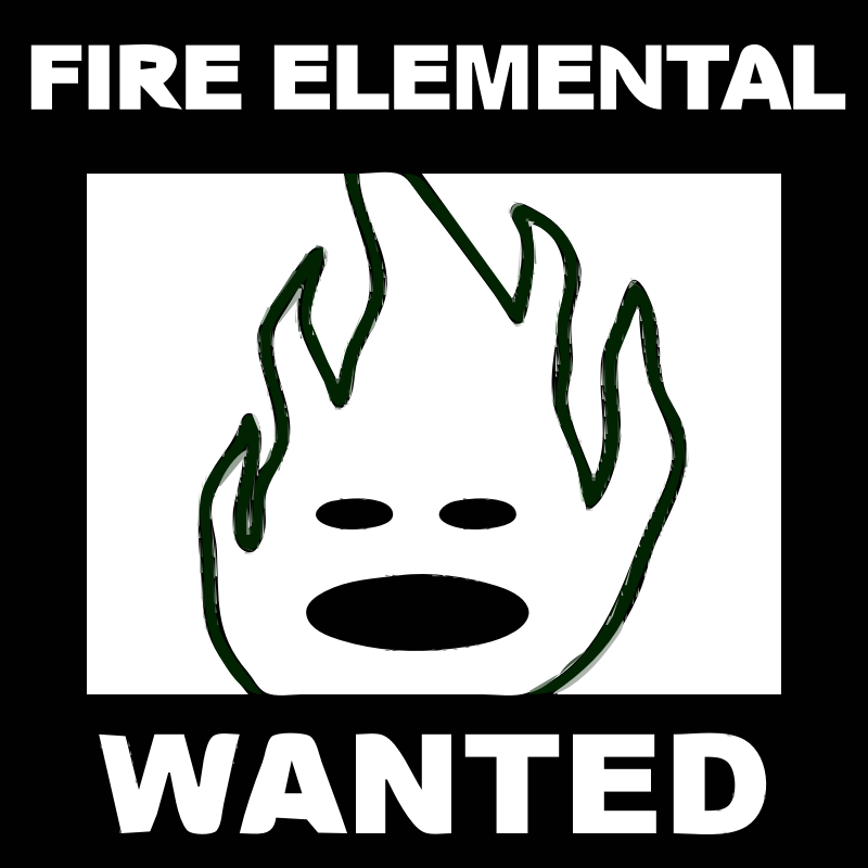 [request] Character 6 - FIRE ELEMENTAL