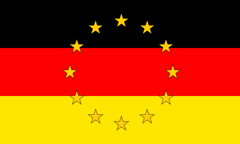 EU flag (Germany)