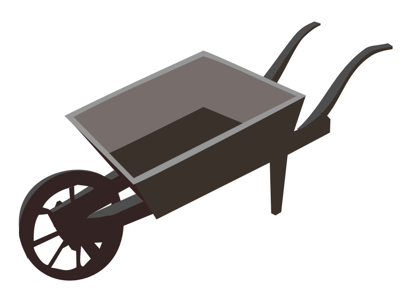Wheel-barrow-planter