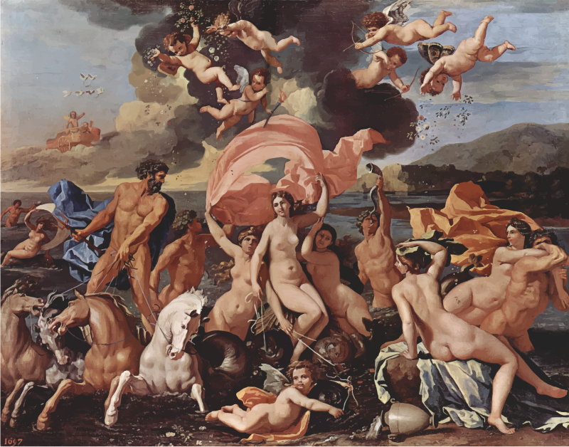 Birth Of Venus Nicolas Poussin