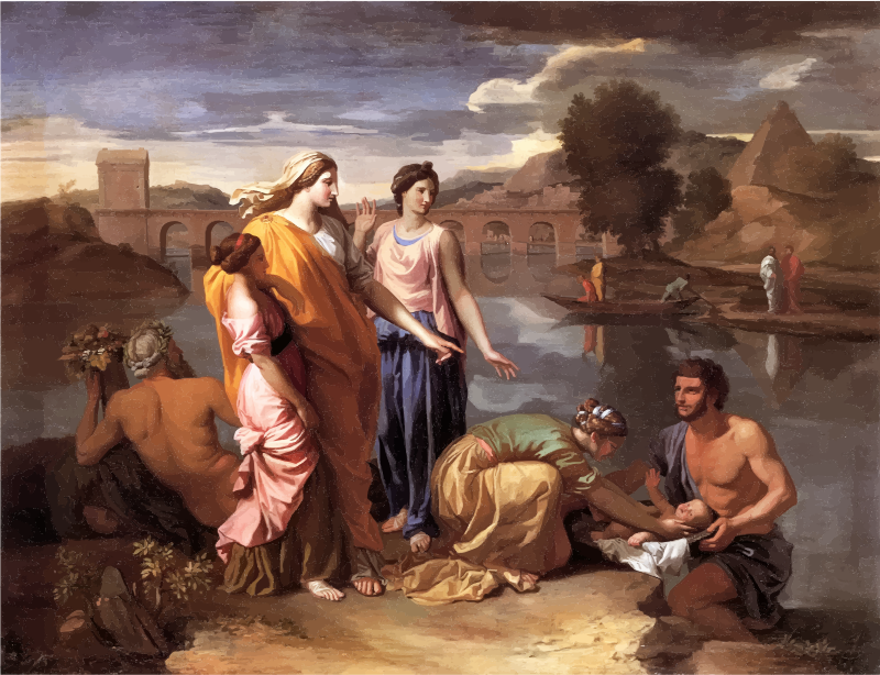 The Finding of Moses Nicolas Poussin