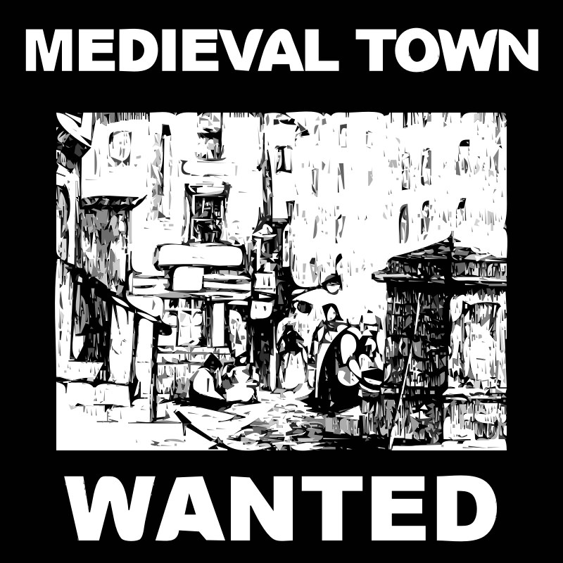 [request] Scenery - MEDIEVAL TOWN