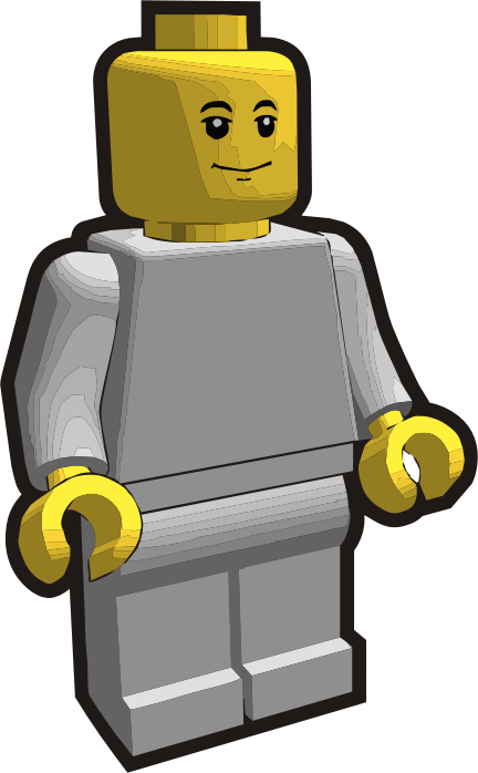 Clip is a Brick - Minifig 2