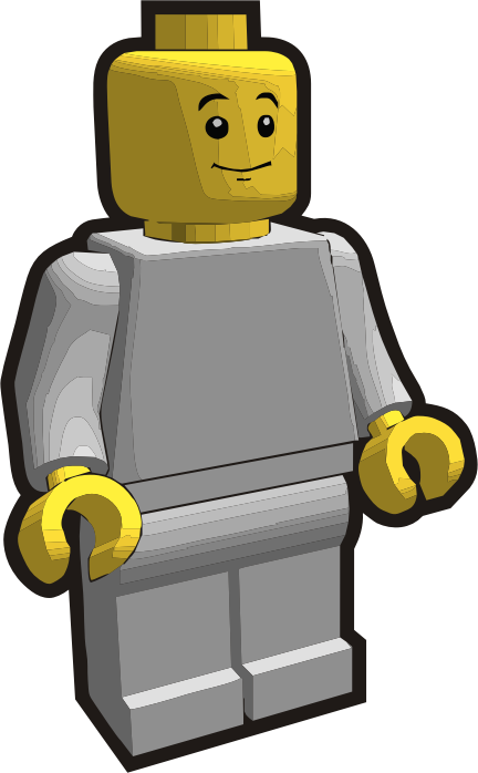 Clip is a Brick - Minifig 3