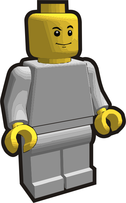 Clip is a Brick - Minifig 4