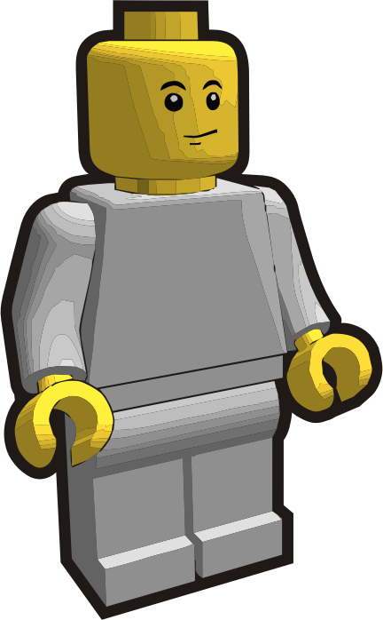 Clip is a Brick - Minifig 6
