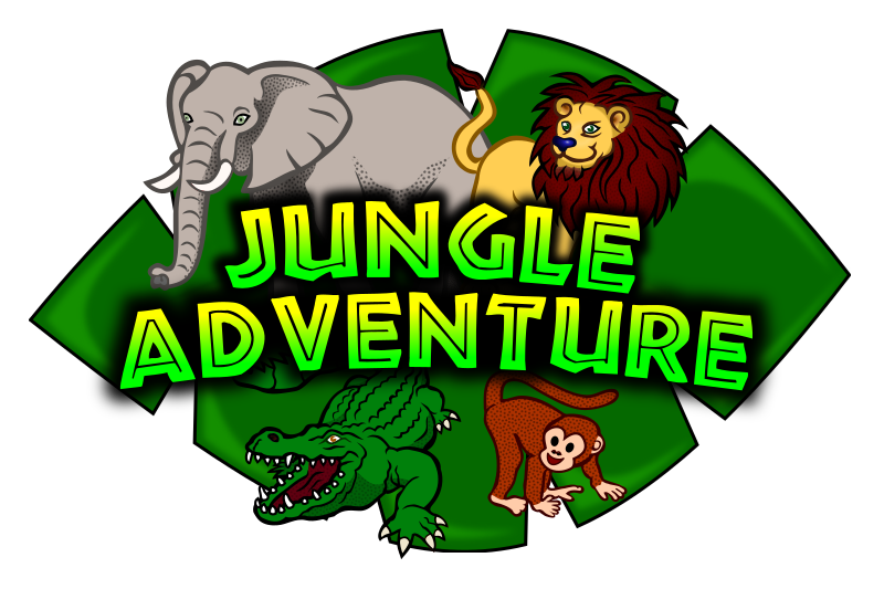 Jungle Adventure Kids Club Logo 2