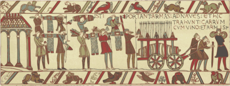 Part of Bayeux Tapestry 2