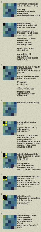 trace pixel art tutorial