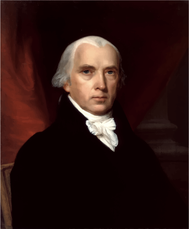 James Madison Portrait 1816
