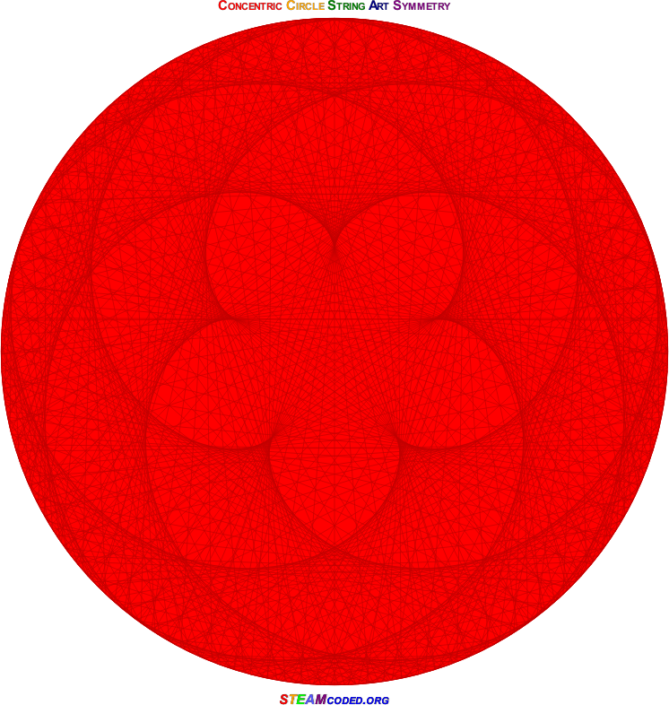 Concentric Circle Symmetry 2