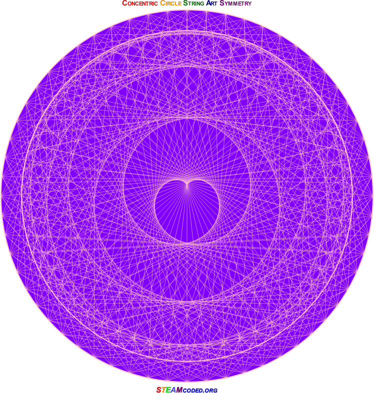 Concentric Circle Symmetry 4