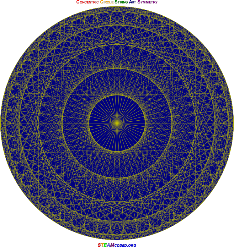 Concentric Circle Symmetry 5