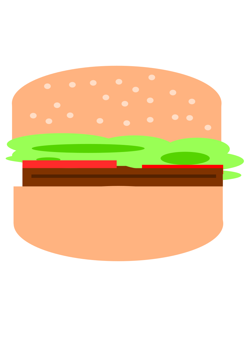 Simple hamburger