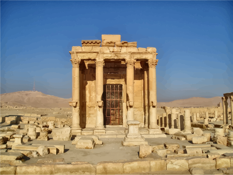 Temple Of Baalshamin Palmyra