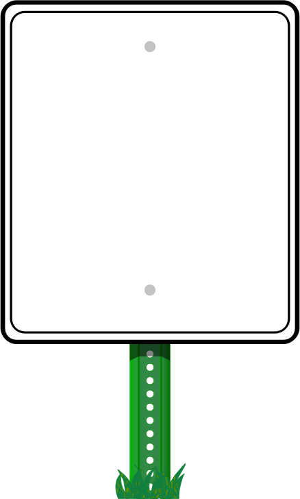 Road Sign Border