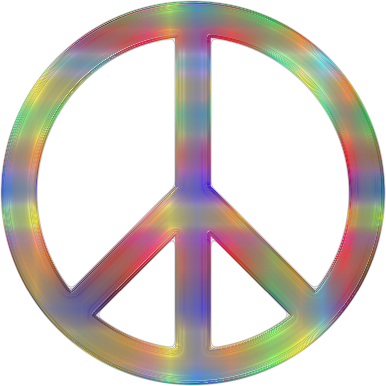 Psychedelic Peace Sign 2
