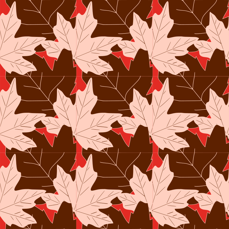 Autumn leaves -seamless pattern