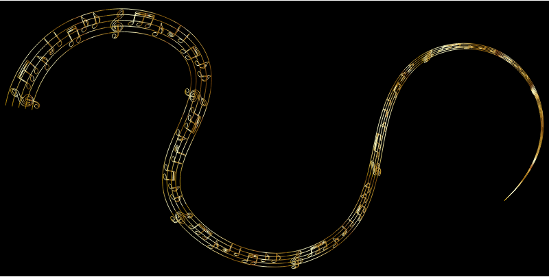 Golden Musical Flourish