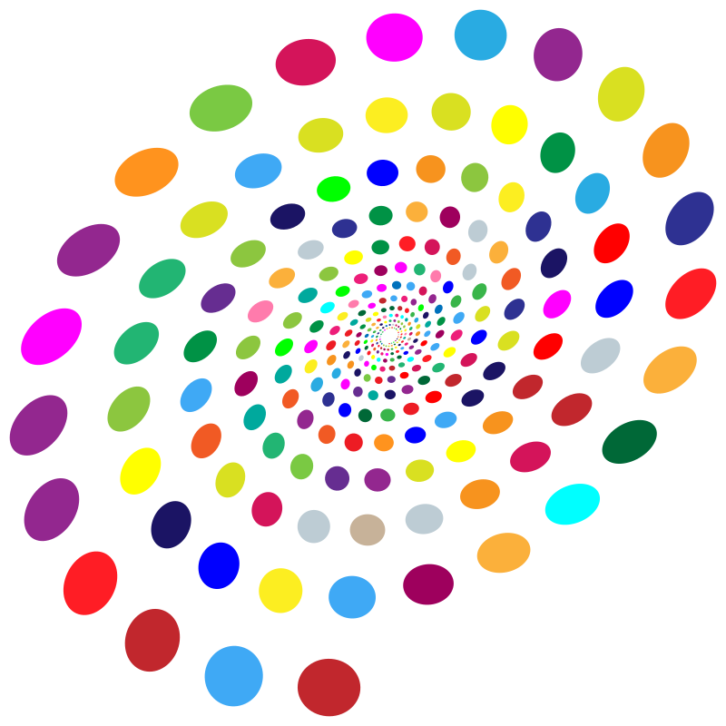 Multicolored Circles Vortex
