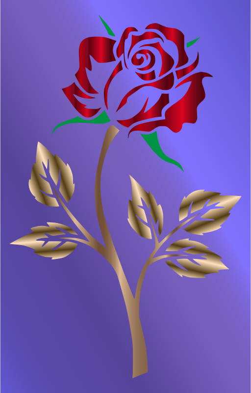 Colored Rose 2