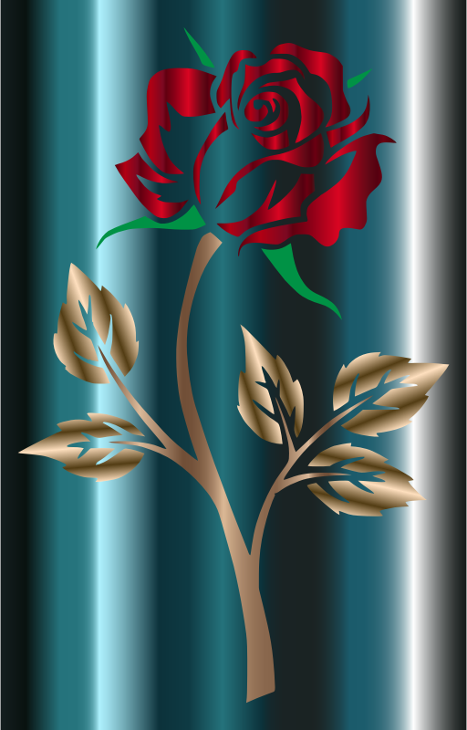 Colored Rose 3