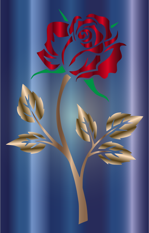 Colored Rose 4