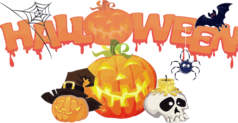 Halloween Decorations Background