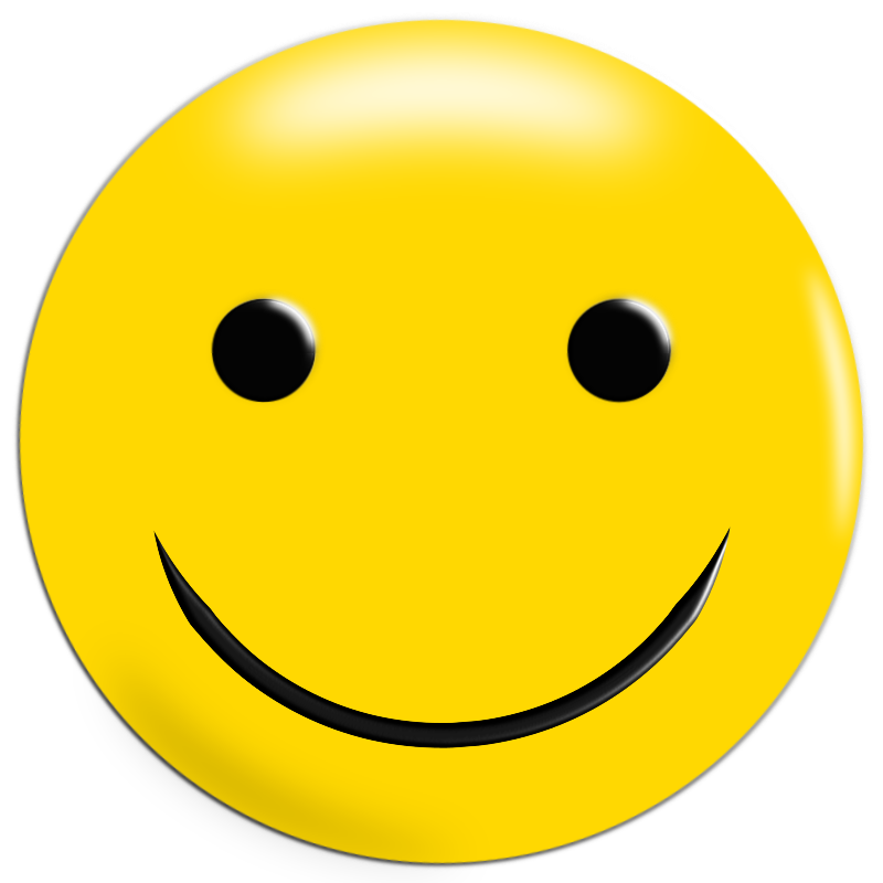 Simple Yellow Smiley
