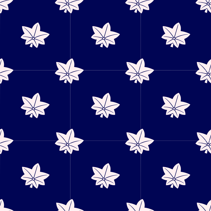 Maple leaf-seamless pattern