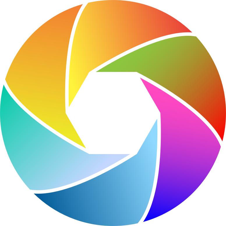 Colorful Shutter Icon 2