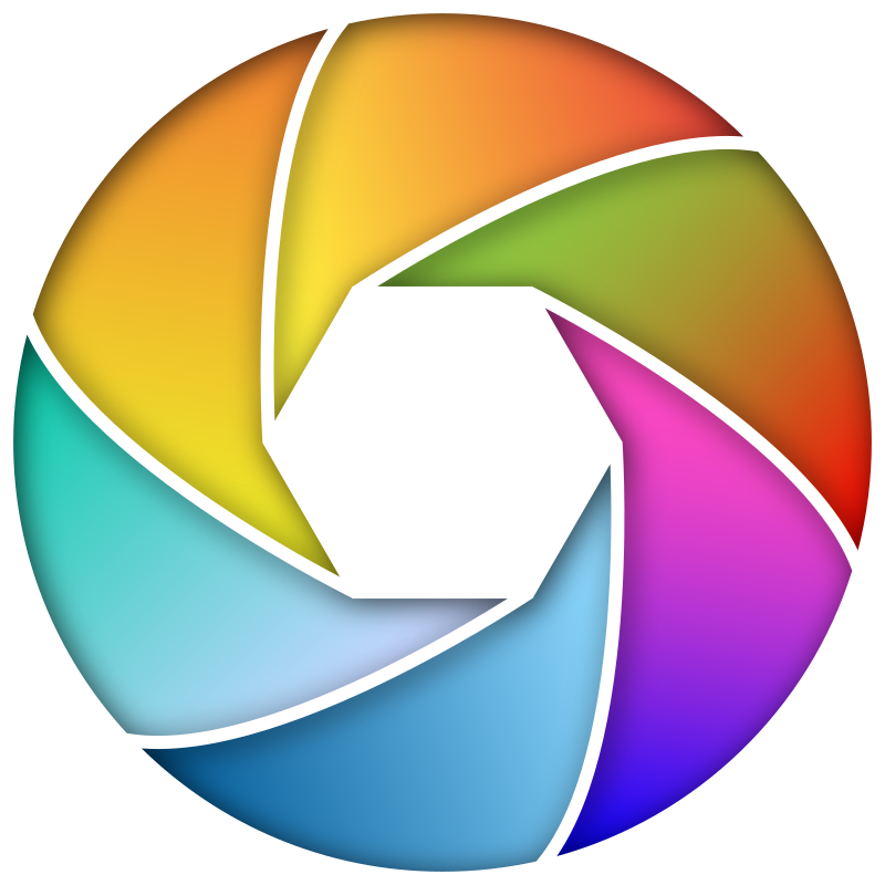 Colorful Shutter Icon 2 Enhanced
