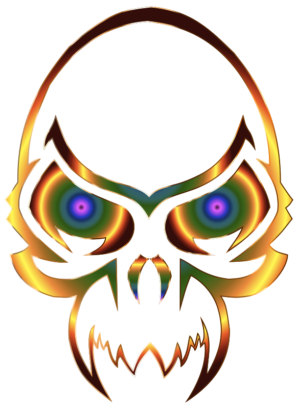 Colorful Skull 2