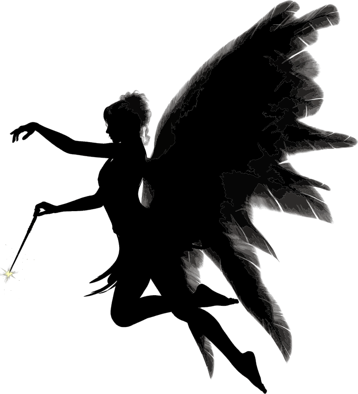 Angel Silhouette