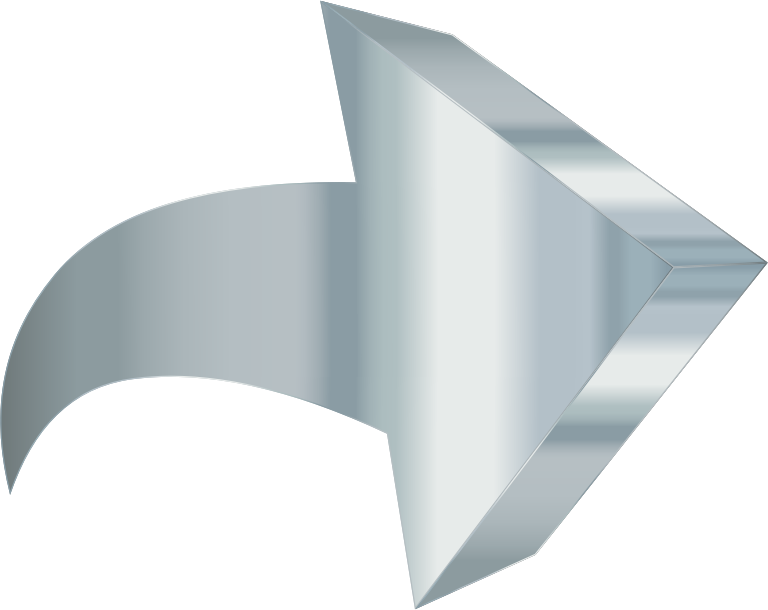 Rigid Titanium 3D Arrow