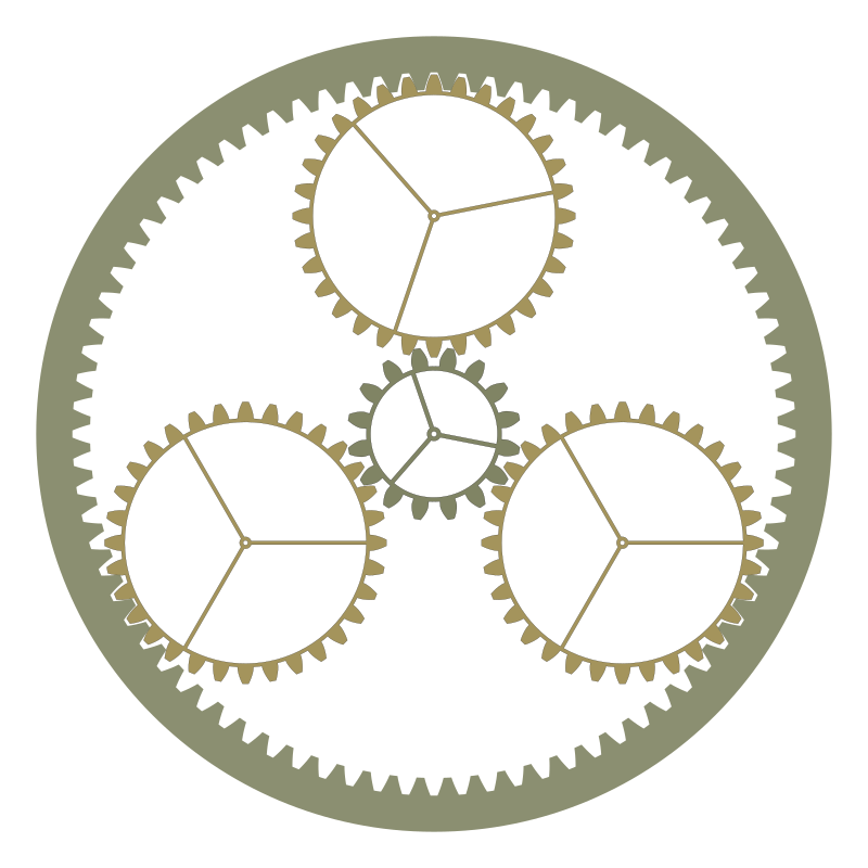 Epicyclic-gearing