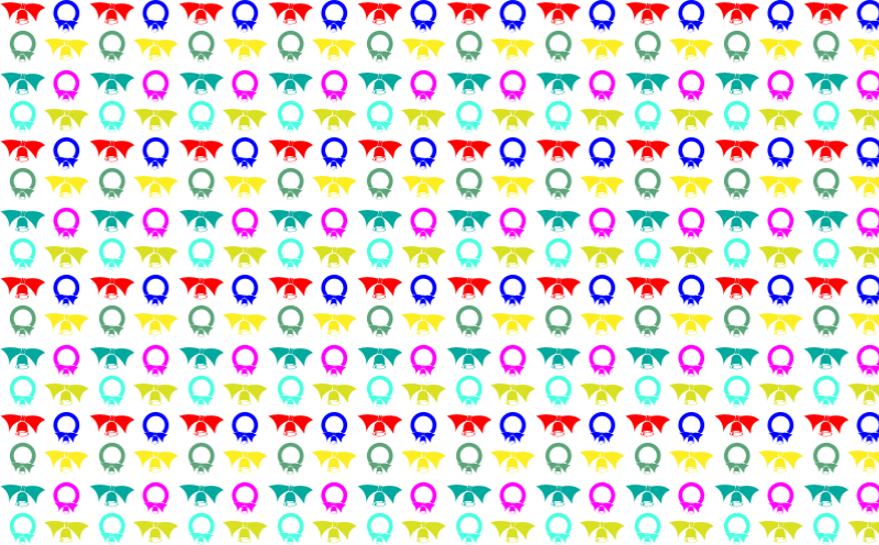 Colorful Bells Seamless Pattern