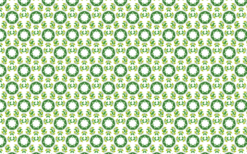 Leafy Design Seamless Pattern 9